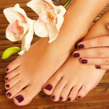 Spa Pedicure and Nails polish